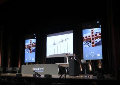 Evento Pauluzzi em movimento app realidade aumentada - auge